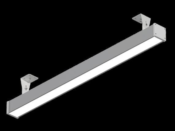 """Светодиодный линейный светильник """"Прогресс"""" 90Вт 1500мм IP54 накл/подвес НВ-Р-РТ-М-90-1500.70.67-4-0-54"""