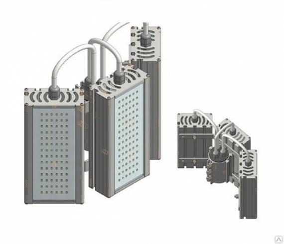 """Промышленный светильник VRN-UN-96T-G50K67-K90 """"Модуль"""""""