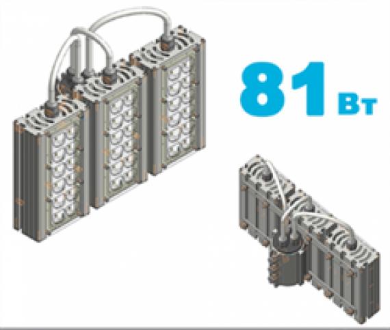 """Светодиодный светильник """"Магистраль"""" VRN-LM30X120-81T-A50K67-K"""
