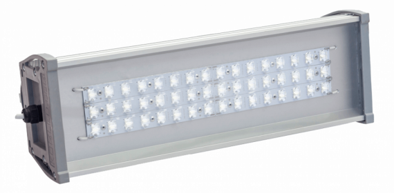 Уличный светодиодный светильник со вторичной оптикой OPTIMA-S-053-220-50