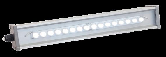 Линейный светодиодный светильник со вторичной оптикой LINE-P-053-55-50