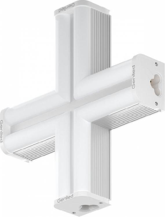 Светодиодный X-образный светильник Geniled Лайнер-Х 11W 5000К