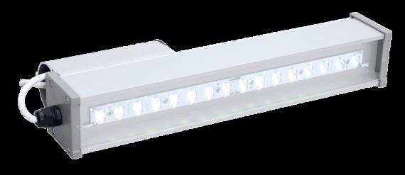 Уличный светодиодный светильник со вторичной оптикой LINE-S-053-55-50