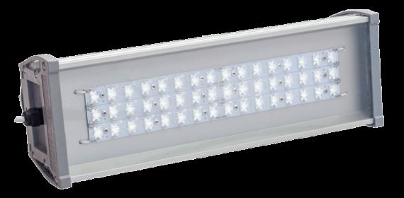 Уличный светодиодный светильник со вторичной оптикой OPTIMA-3S-053-450-50