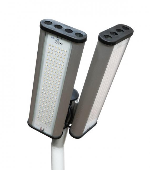 """Уличный светодиодный светильник """"Модуль"""", консоль МК-2, 128 Вт НВ-У-K-Е-128-305.230.140-4-0-67"""