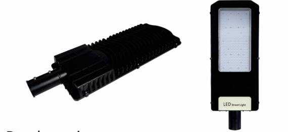 Консольный уличный светильник ДКУ KRISTALL 200 W