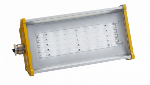 Взрывозащищенный светодиодный светильник OPTIMA-1EX-P-013-40-50