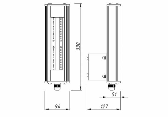 Светильник I-SBERG ISI OPTIMA 30