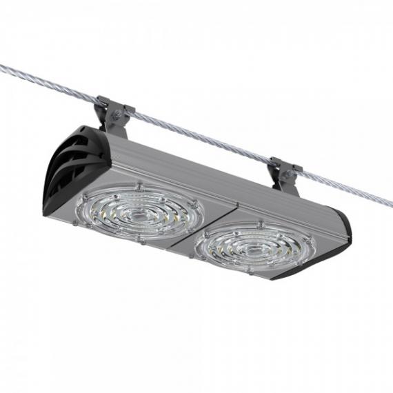 Светодиодный светильник ПромЛед Магистраль v3.0-100 Мультилинза Трос