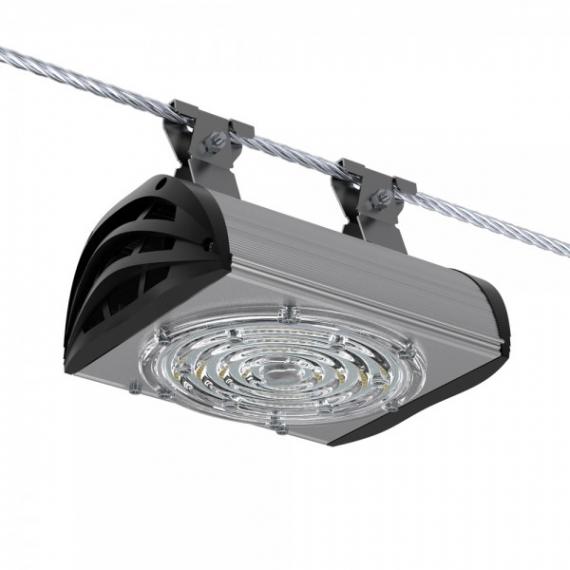 Светодиодный светильник ПромЛед Магистраль v3.0-50 Мультилинза Трос