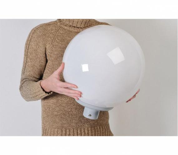 Светодиодный светильник ПСС 30 ШАР (красный)