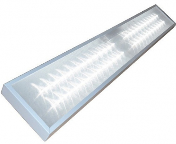 Светильник светодиодный MBRLED ОФИС-1200х300-54-4К IP54 микропризма