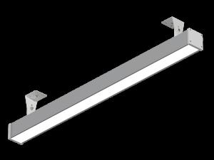 """Светодиодный линейный светильник """"Прогресс"""" 75Вт 1500мм IP54 накл/подвес НВ-Р-РТ-М-75-1500.70.67-4-0-54"""