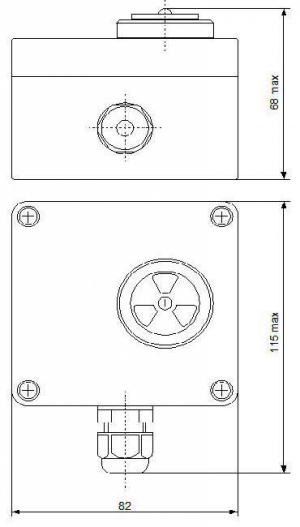 Сигнализатор звуковой светофорный (Сигнализатор) СЗС-220-001