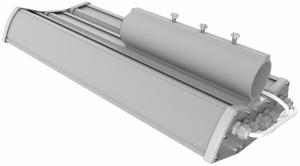 Уличный консольный светодиодный светильник ДКУ-65/8000 65Вт