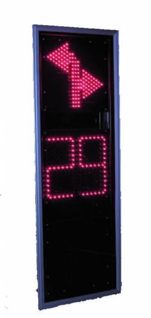 Светофор дорожный светодиодный (Транспортный) Т.2.пл.2-ТВ-П