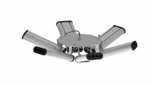 """Светодиодный промышленный подвесной светильник """"HIGH BAY"""", 192 Вт НВ-П-У-Е-192-750.750.200-4-0-67-M"""