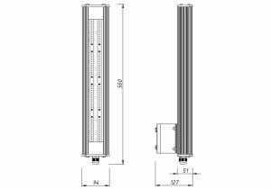 Светильник I-SBERG ISI OPTIMA 50