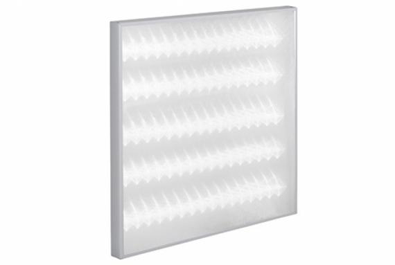 Светильник светодиодный MBRLED ОФИС-600х600-45-5К IP54 опаловая микропризма